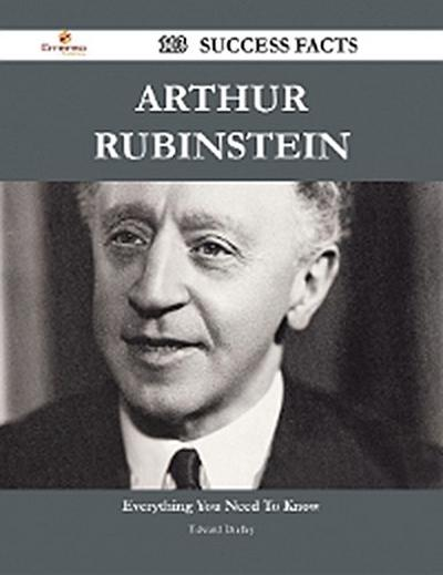 Arthur Rubinstein 113 Success Facts - Everything you need to know about Arthur Rubinstein