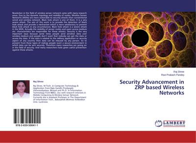 Security Advancement in ZRP based Wireless Networks