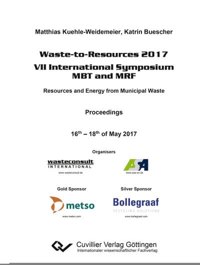 Waste-to-Resources 2017