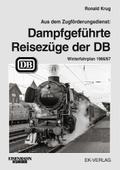 Dampfgeführte Reisezüge 1966