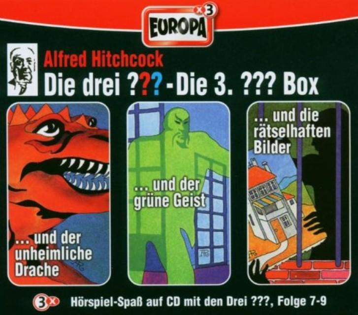die drei box 03 folgen 7 9 drei fragezeichen 3 cds 0743219894229 ebay. Black Bedroom Furniture Sets. Home Design Ideas