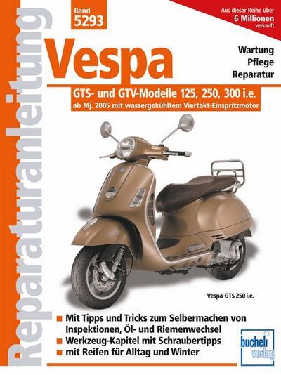 Vespa GTS 125/250/300  -  ab Modelljahr 2005