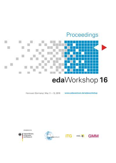 Proceedings - edaWorkshop 16