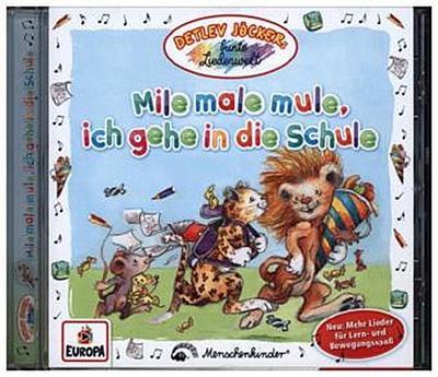 Mile male mule,ich gehe in die Schule
