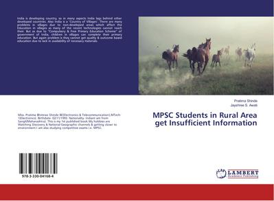 MPSC Students in Rural Area get Insufficient Information