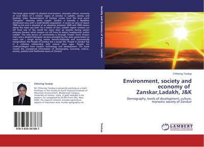 Environment, society and economy of Zanskar,Ladakh, J&K