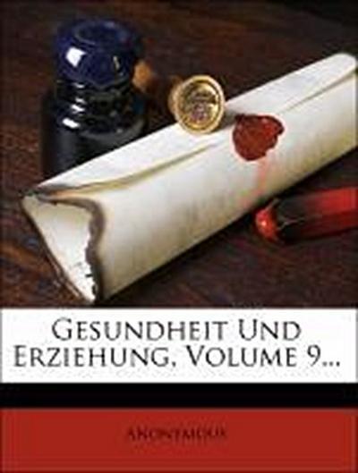 Zeitschrift für Schulgesundheitspflege.