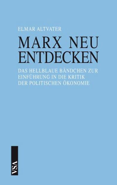 Marx neu entdecken