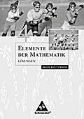 Elemente der Mathematik 4. Lösungen. Sekundarstufe 1. Baden-Württemberg