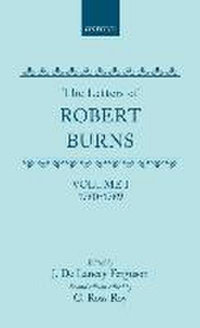 The Letters of Robert Burns: 1780-1789