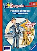 Polizeiabenteuer zum Lesenlernen; HC - Leserabe - Sonderausgabe; Ill. v. Schröder, Gerhard/Hartmann, Jörg; Deutsch; durchg. farb. Ill.