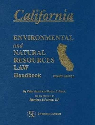 California Environmental and Natural Resources Handbook