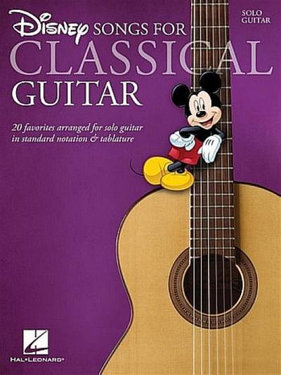 Disney Songs - Classical Guitar
