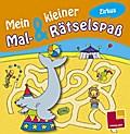 Mein kleiner Mal- & Rätselspaß. Zirkus; Malbücher und -blöcke; Ill. v. Schmidt, Sandra; Deutsch; s/w