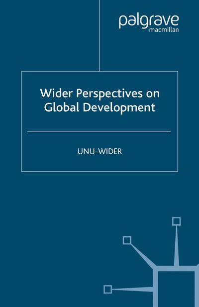 Wider Perspectives on Global Development