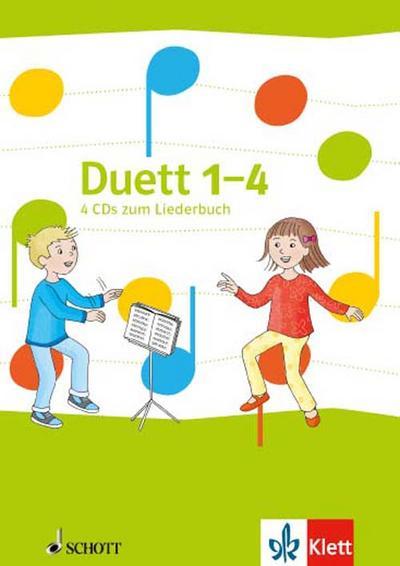 Duett - Neubearbeitung / Audio-CDs zum Liederbuch 1.-4. Schuljahr