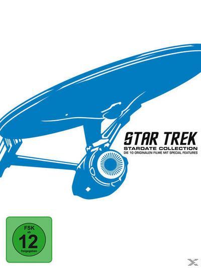 STAR TREK I-X Box - Remastered BLU-RAY Box