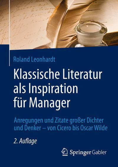 Klassische Literatur als Inspiration für Manager