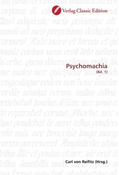 Psychomachia: (Bd. 1)
