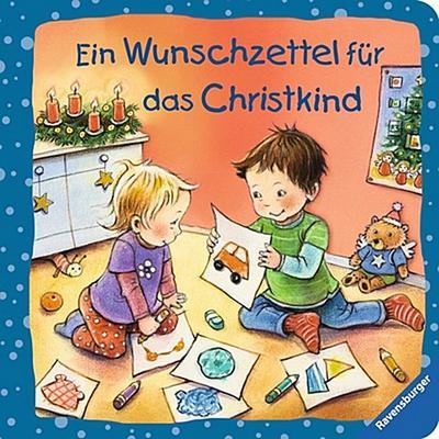 Ein Wunschzettel für das Christkind   ; Ill. v. Altegoer, Regine; Deutsch; durchg. farb. Ill. u. Text -