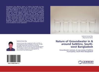 Nature of Groundwater in & around Satkhira, South-west Bangladesh