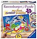 Abenteuer unter Wasser. Puzzle 12 Teile