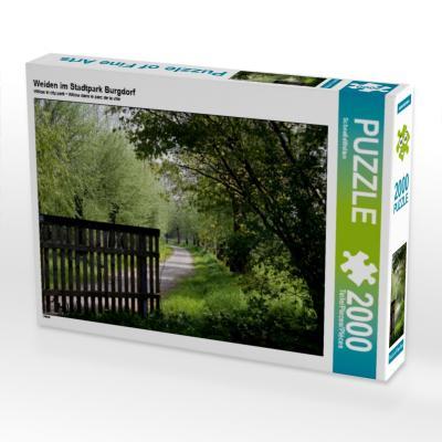 Weiden im Stadtpark Burgdorf (Puzzle)