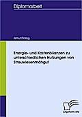 Energie- und Kostenbilanzen zu unterschiedlichen Nutzungen von Streuwiesenmähgut - Almut Döring