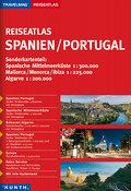 KUNTH Reiseatlas Spanien / Portugal 1:300000  ...