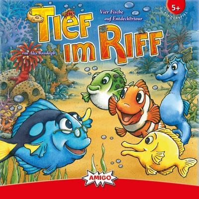 AMIGO Spiel + Freizeit 01755 - Tief im Riff - AMIGO Spiel  &  Freizeit - Spielzeug, Deutsch, Alex Randolph, ,