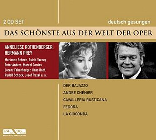 Das Schönste aus der Welt der Oper, Anneliese Rothenberger/Hermann Prey, 2  ...