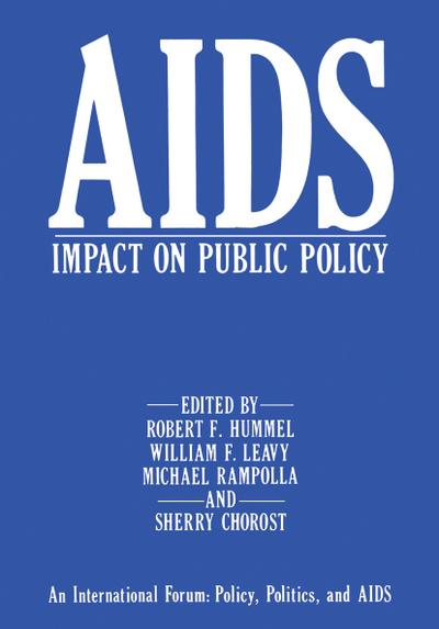 AIDS Impact on Public Policy