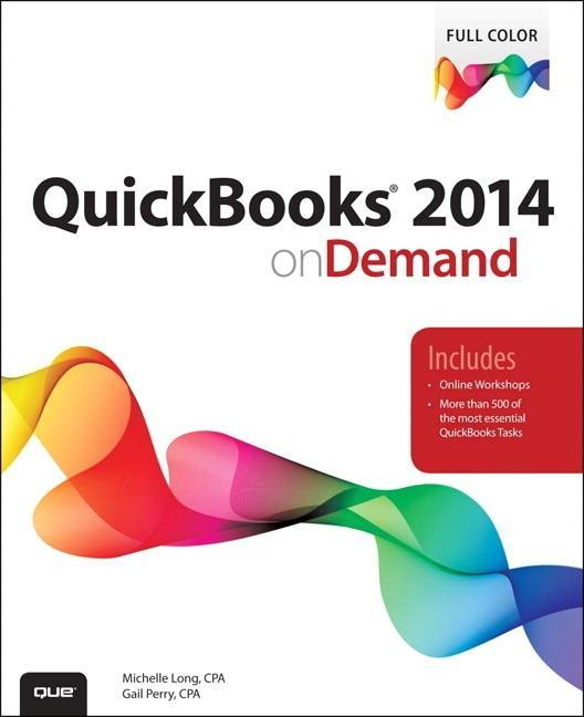QuickBooks 2014 on Demand Gail Perry