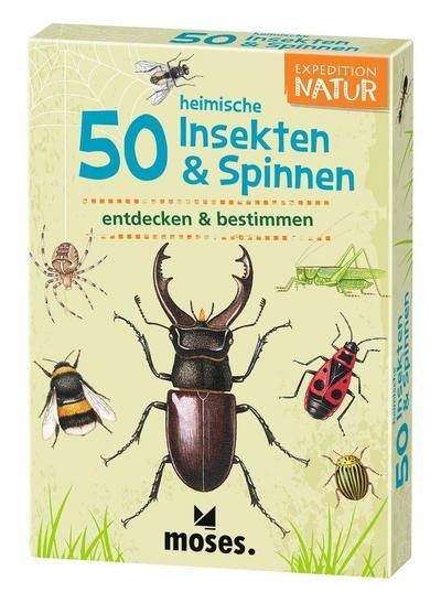 Expedition Natur 50 heimische Insekten & Spinnen: entdecken & bestimmen