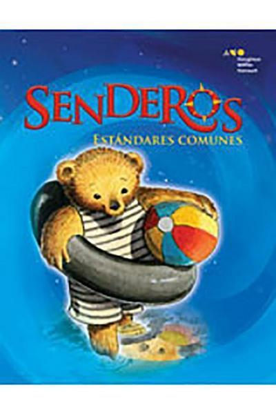 Senderos Estándares Comunes: Little Big Book Grade K La Señorita Bindergarten Celebra El Último Día de Kindergarten (Unit 6, Book 30)