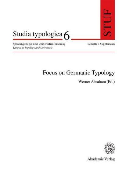 Focus on Germanic Typology