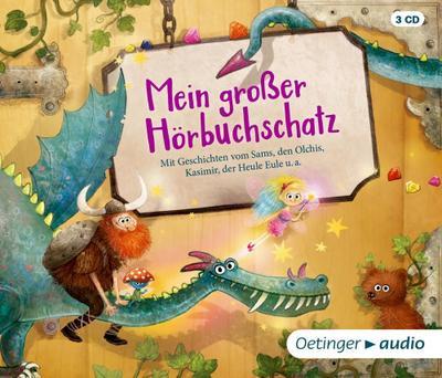 Mein großer Hörbuchschatz (3 CD); Ungekürzte Lesungen mit Musik und Geräuschen, ca. 160 Min.; Ill. v. Rauers, Wiebke; Deutsch
