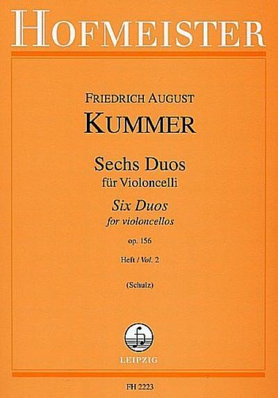 6 Duos op.156 Band 2 für2 Violoncelli
