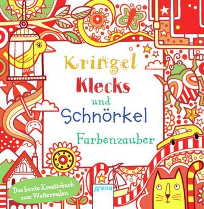 Kringel, Klecks und Schnörkel. Farbenzauber   ; Ill. v. Figg, Non; Deutsch; ca. 128 S.