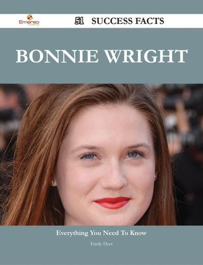 Bonnie Wright 51 Success Facts - Everything you need to know about Bonnie Wright