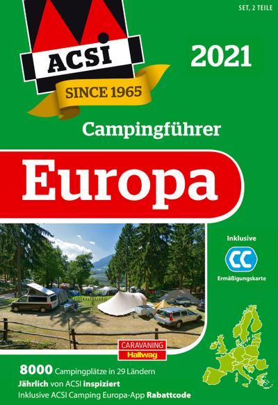 ACSI Internationaler Campingführer Europa 2021