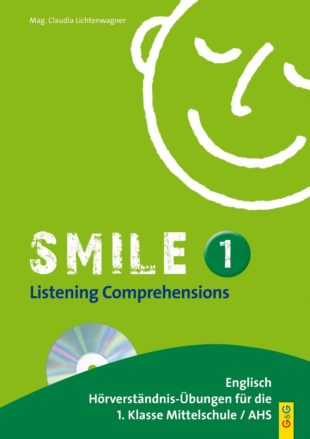 Smile - Listening Comprehension 1 mit CD, Claudia Lichtenwagner