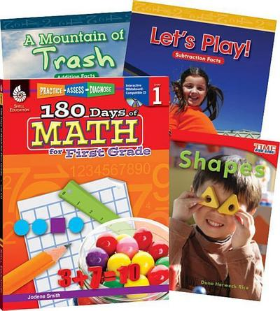 Learn-At-Home: Math Bundle Grade 1