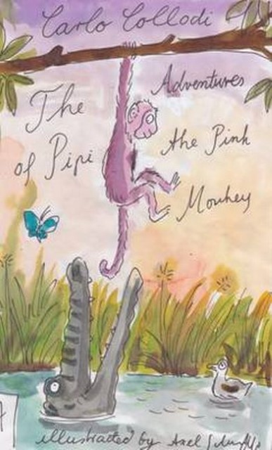 NEU The Adventures of Pipi, the Pink Monkey Carlo Collodi 495594