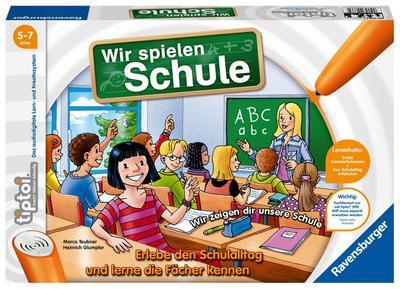 Ravensburger tiptoi 00733 - Wir spielen Schule, Experimentierspielzeug, bunt