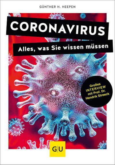 Coronavirus; Alles, was Sie wissen müssen; GU Reader Körper, Geist & Seele; Deutsch
