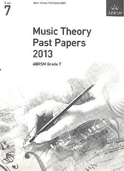 Music Theory Past Papers 2013 Grade 7