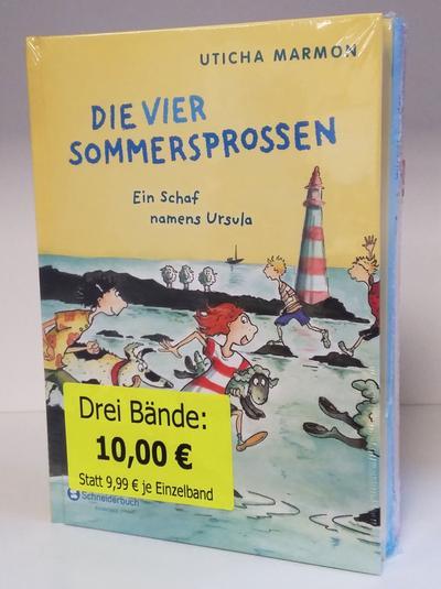 Die vier Sommersprossen, 3 Bde.