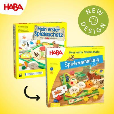 Mein erster Spieleschatz - Die große HABA-Spielesammlung