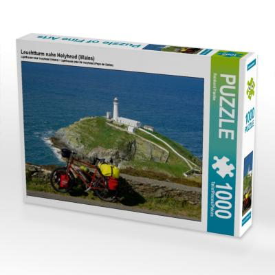 Leuchtturm nahe Holyhead (Wales) (Puzzle)